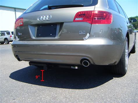 Audi A6 Ground Clearance by Ground Clearance Of Curt Trailer Hitch 11344 Installed
