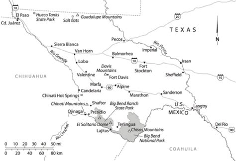 pecos river texas map maps of trans pecos texas