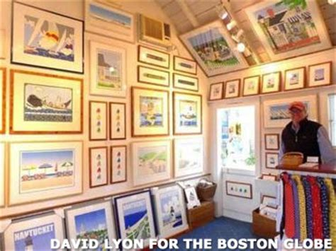 boston globe travel section eric holch gallery on nantucket printmaking