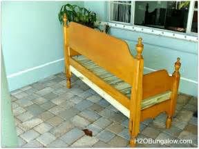 Make Bed Into by How To Make An Easy Headboard Bench