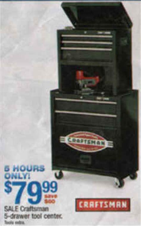 black friday deal craftsman 5 drawer homeowner tool
