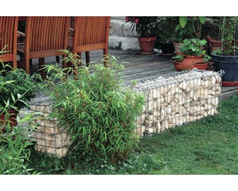 gabion 224 pierres 100x30x40 cm acheter sur hornbach ch