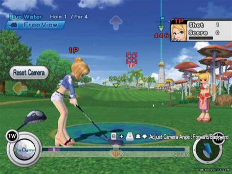 golf swing game super swing golf pangya wii news reviews trailer
