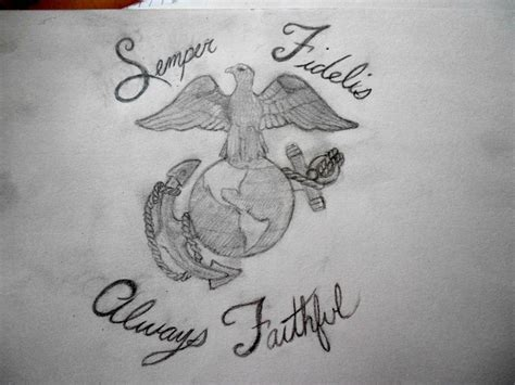 semper fi tattooed on his left arm 21 best semper fidelis images on semper