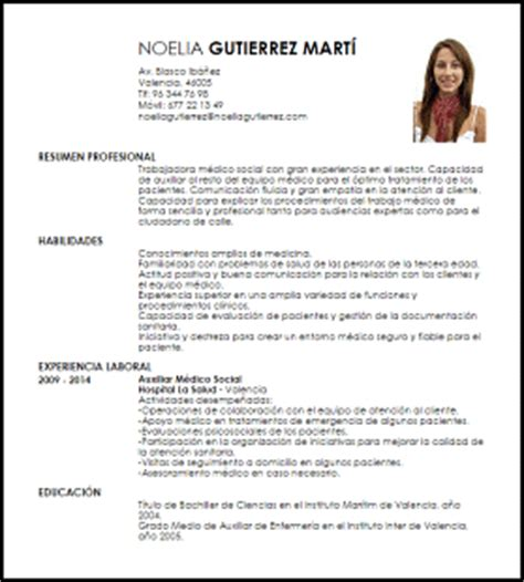 Modelo De Curriculum Vitae Medico Argentina Modelo Curriculum Vitae M 233 Dico Social Livecareer