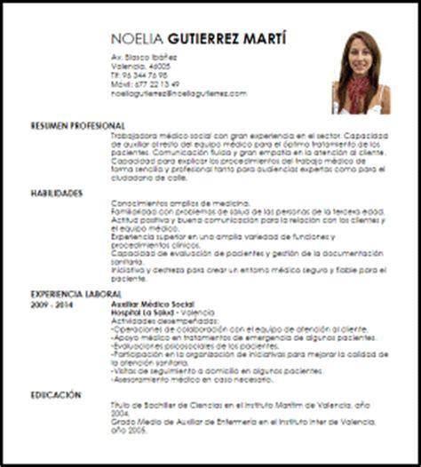 Modelo Curriculum Vitae De Medico Modelo Curriculum Vitae M 233 Dico Social Livecareer