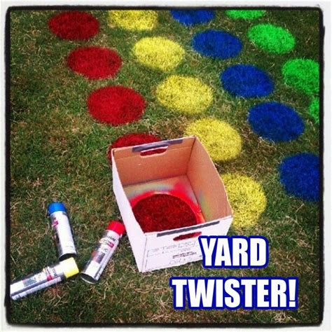 backyard fun games back yard twister fun outdoor games dump a day