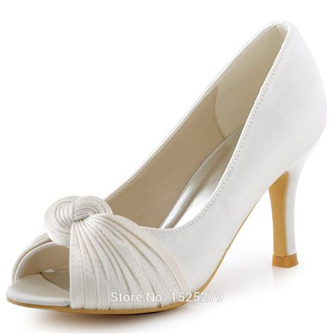 comfortable pumps for wedding elegantpark hp1557 ivory white women bridal party high