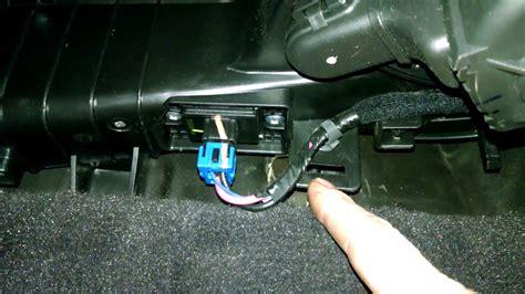 remove climate control s from a 2003 kia rio temperature control motor actuator hyundai sonata 2009