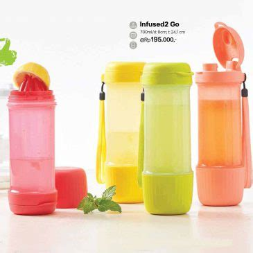 Infused 2go Tupperware Maret 2017 infused2 go tupperware botol minum tupperware terbaru