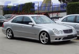 Mercedes W211 Mercedes E Class W211 02 09 Styling