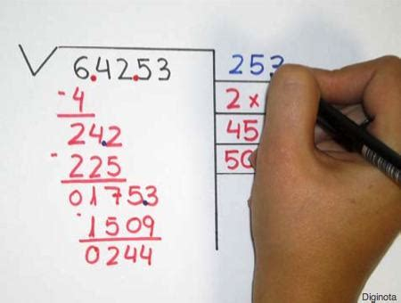 pasos para hacer una raiz cuadrada c 243 mo hacer ra 237 ces cuadradas para los chichos y no tan