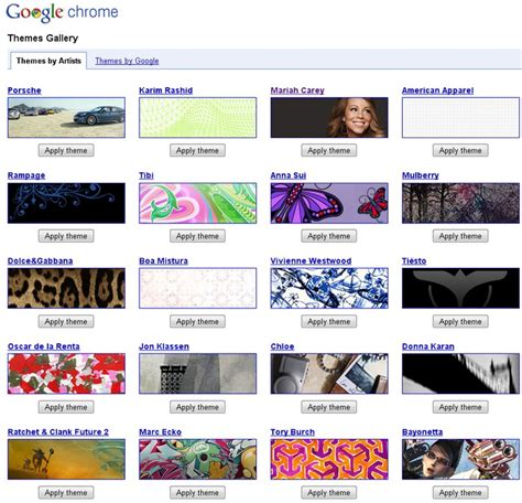 top themes for google chrome google chrome ajoute 100 nouveaux th 232 mes autour du web