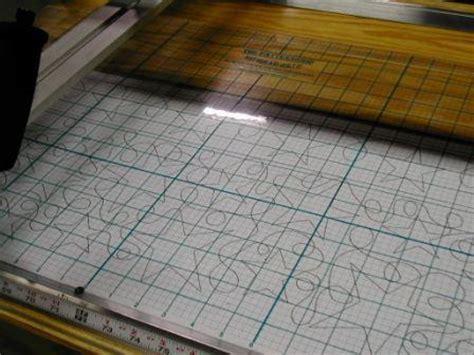 pattern grid for pantographs precise pantograph system