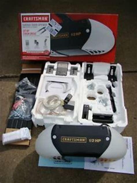 53985 Garage Door Opener Craftsman Garage Door Opener 1 2 Hp Chain Drive Model 53930 On Popscreen