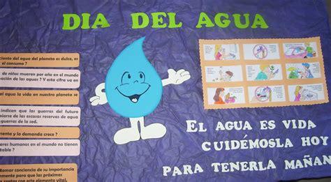 cartelera escolar sobre el agua manuela deco