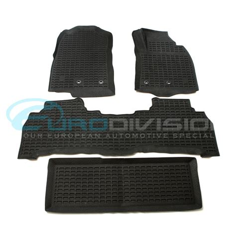 Toyota Rubber Car Mats Toyota Land Cruiser 2012 To 2015 3d Rubber Floor Mats
