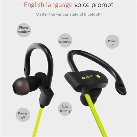 Ubit Mh2 Bluetooth Headphone Speaker מוצר Ubit 56s Sports Wireless Bluetooth Earphone Stereo Earbuds Headset Bass Earphones With