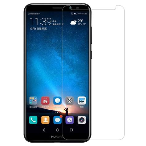 4d Tempered Glass Huawei Mate 10 Cover 9h Anti Gores Kaca huawei mate 10 lite nillkin amazing h pro tempered glass screen protector
