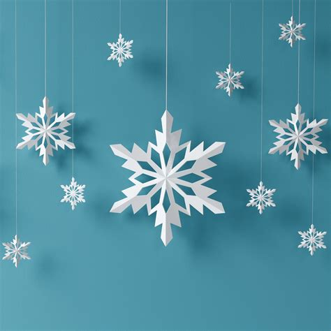 Paper Snowflake Crafts - 5 crafts to make you feel like a kid again