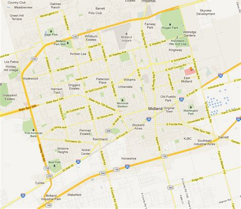 map of midland texas location 187 bridge estates in midland tx luxurious affordable midland housing