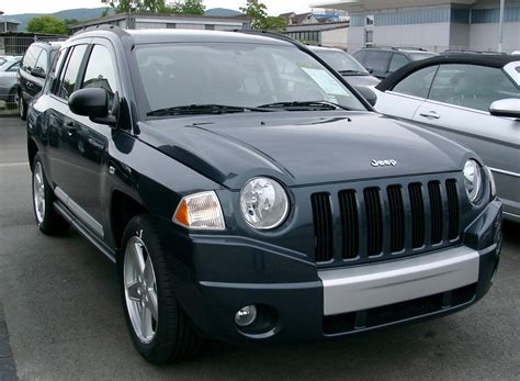 Jeep Compass Wiki File Jeep Compass Limited Front 20080517 Jpg
