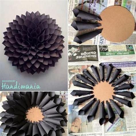 paper dahlia flower tutorial how to make a paper wreath dahlia inspired under 10 to