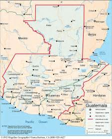 guatemala country map by quich 233 a mayan of guatemala