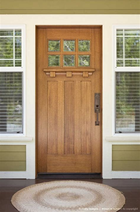 Craftsman Exterior Doors Front Door Of Craftsman Style Home Doors Pinterest