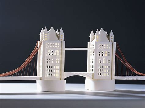 architecture model galleries famous architecture buildings the tower bridge model paper model of tower bridge in
