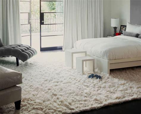 caring  white shag rug    traba homes