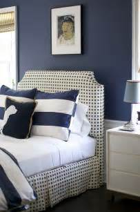 Bedroom Paint Ideas In Blue Shingle Cottage With Coastal Interiors Home Bunch