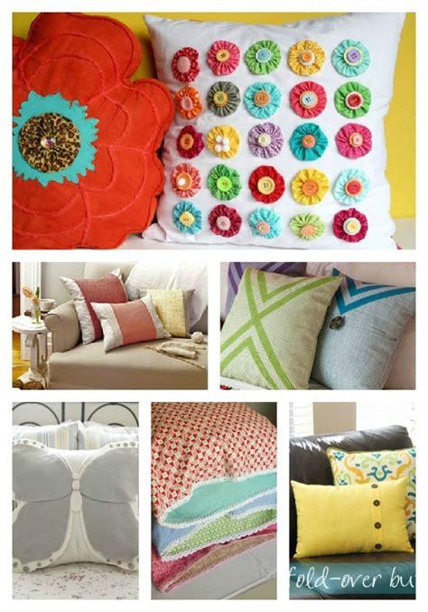 12 pillow tutorials