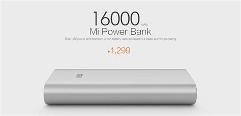 Power Bank Mi 16000mah 16 000mah mi power bank availability hungry geeks