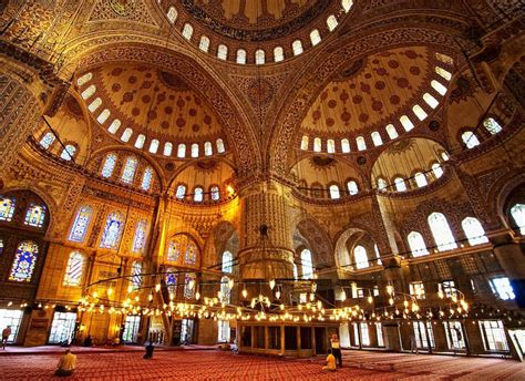 Blue Mosque Interior Photos by Half Day Blue Mosque And Topkapi Palace Tours