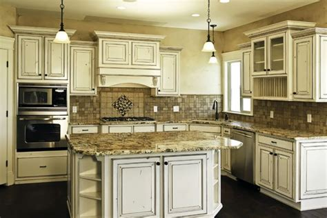 kitchen ideas with white washed cabinets the white washed cabinets for the home