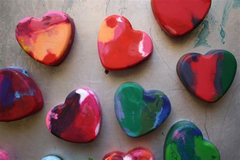 crayon hearts 40 simple s day craft ideas just for