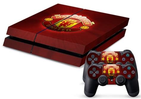 Dijamin Ps4 Skin Manchester United playstation 4 vinyl skin sticker quot quot manchester united f c
