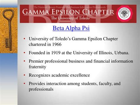 Mba Degree Toledo by Ppt The Of Toledo College Of Business And