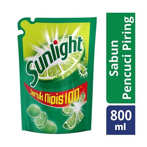 Sabun Pencuci Piring Sunlight Jeruk Nipis 84 Ml Refill Jual Sunlight Sabun Cuci Piring Jeruk Nipis Refill 800 Ml