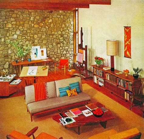 retro home interiors vintage 60 s living rooms furniture home design ideas