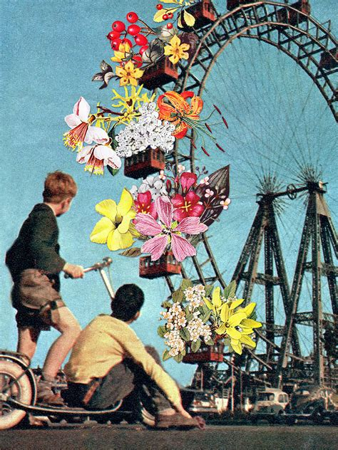 abstract collages  eugenia loli  dna life