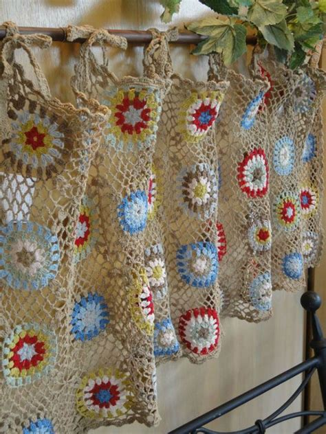 crochet curtain panels 15 best ideas about crochet curtains on pinterest