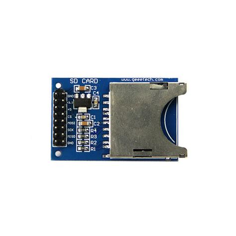 Sd Card For Arduino arduino sd card module geeetech wiki