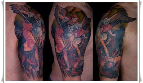 30 perfect st michael tattoo design ideas 30 perfect st michael tattoo design ideas