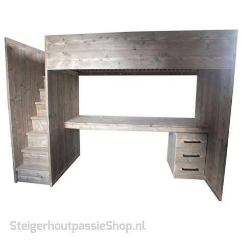 stapelbed met bureau stapelbed met bureau en kast stunning hoogslaper met trap