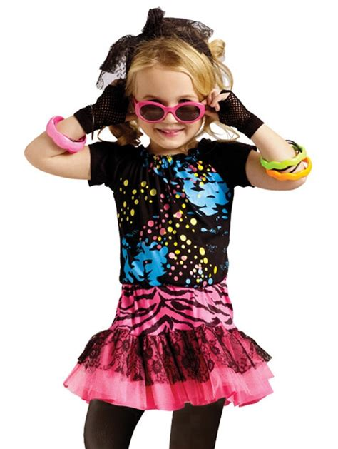 Spray Paint Bottle Price - girls 80s party pop rock star toddler halloween costume vip fashion australia www
