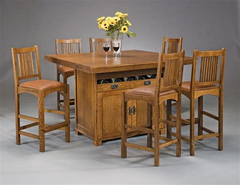 american craftsman dining room collection dining