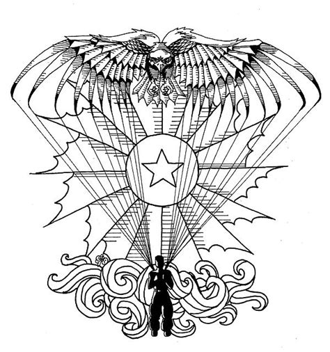 army parachute coloring pages us army art