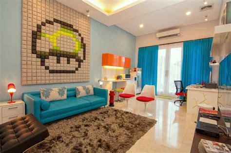 desain interior ruang tamu  kamar tidur rumah sederhana informasi desain  tipe rumah